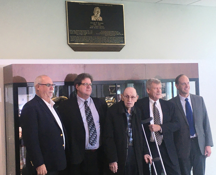 Joseph Keenan Plaque event 2019