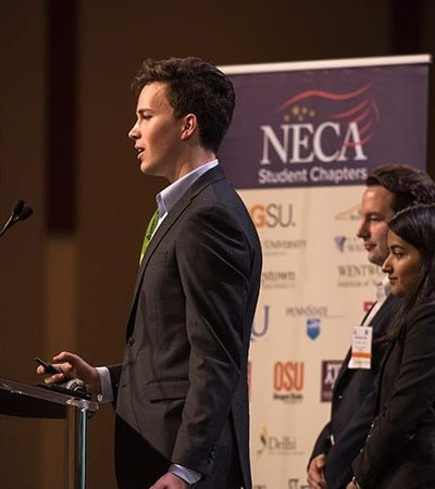 NECA / ECA Chicago Student Chapter Finalist in the video competition of the Green Energy Challenge