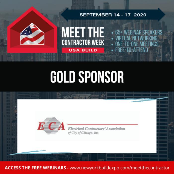 ECA Chicago sponsors MEET THE CONTRACTOR Week