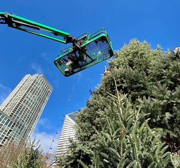 In case you missed it,  check out Powering Chicago's lighting of the City's 107th annual Christmas tree!